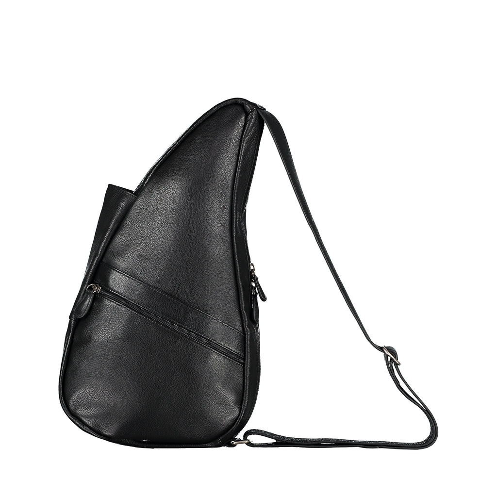 Healthy Back Bag Leather Black Small left side