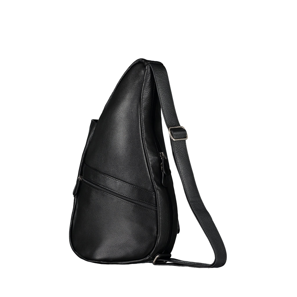 Healthy Back Bag Leather Black Small