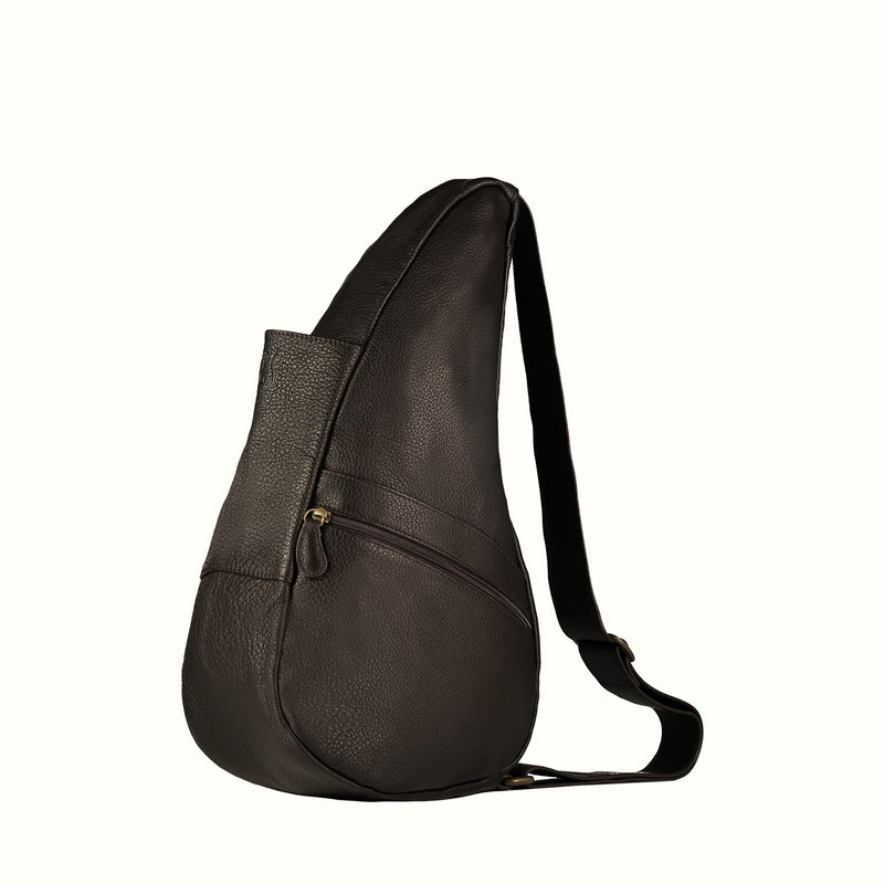Healthy Back Bag Leather Coffee Small