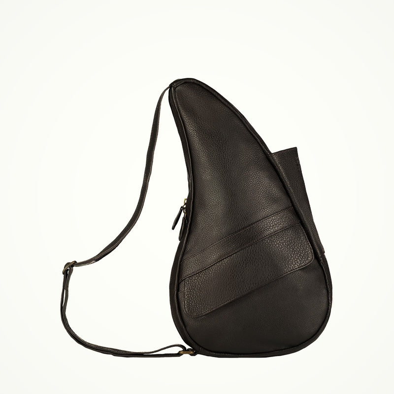 Healthy Back Bag Leather Coffee Small right side