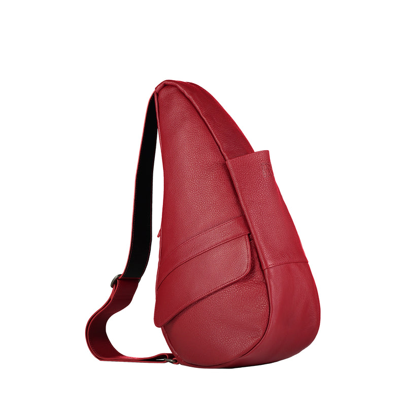 Healthy Back Bag Leather Chilli Red Small