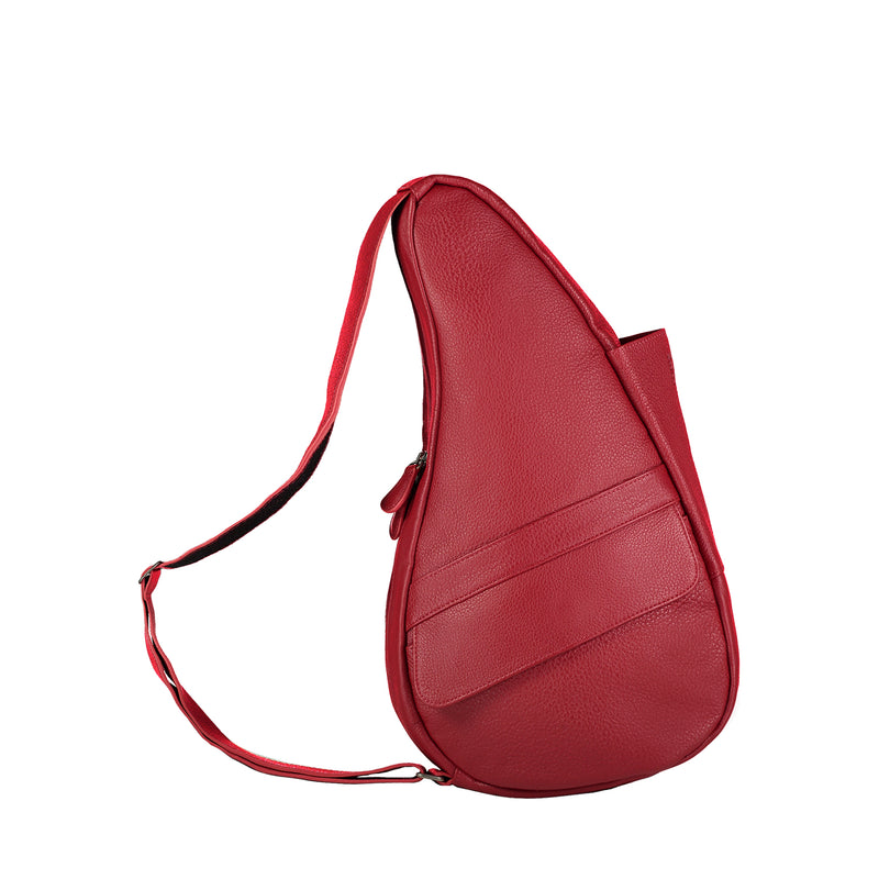 Healthy Back Bag Leather Chilli Red Small right side