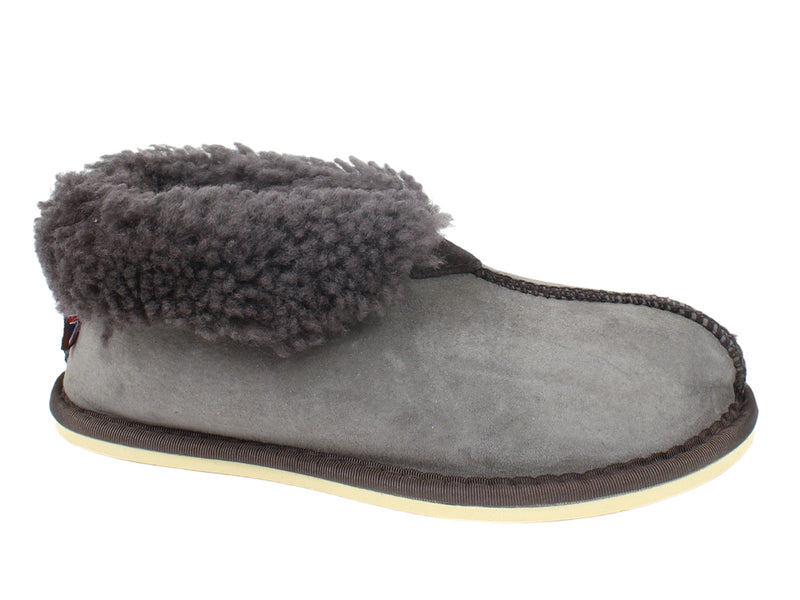 Celtic & Co Slippers Sheepskin Bootee Vole side view