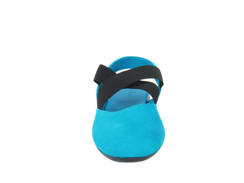 Arche Women Sandals Labana Nayati Blue front view