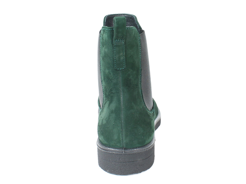 Legero Boots Soana 00866 Pine Green back view