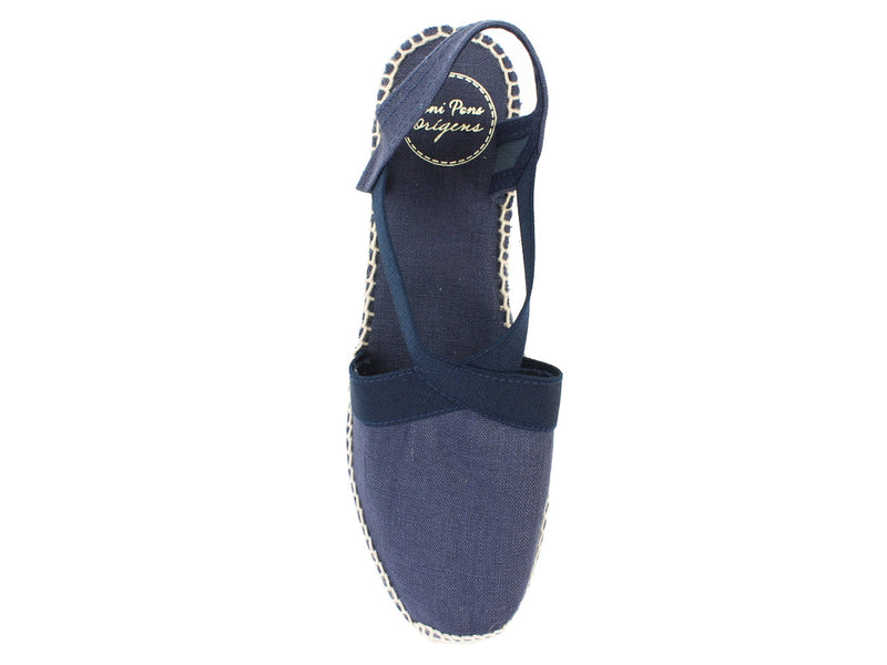 Toni Pons Sandals Ter Navy top view