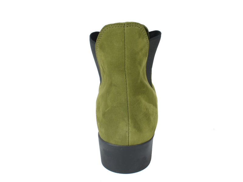 Arche Boots Lomata Oliba Green back view