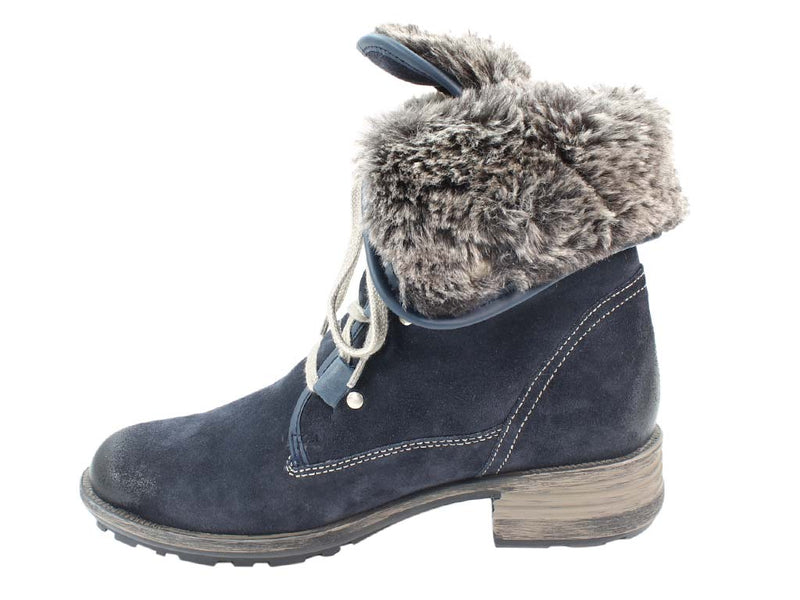Josef Seibel Boots Sandra 04 Denim in side view
