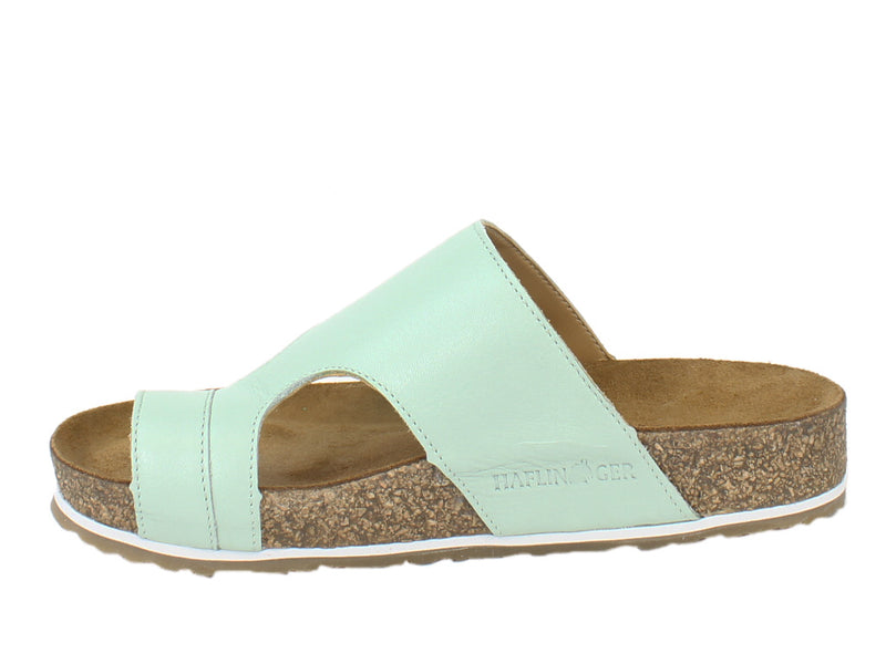 Haflinger Sandals Anka Mint side view
