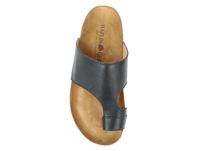 Haflinger Sandals Anka Black top view