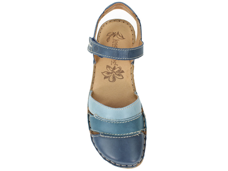 Josef Seibel Women Sandals Rosalie 44 Ocean top view