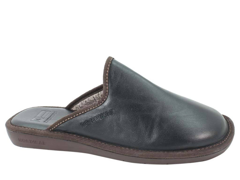 Nordikas Men Slippers Black side view