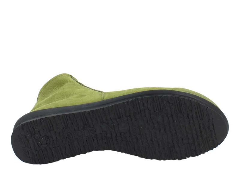 Arche Boots Baryky Oliba Green  sole view