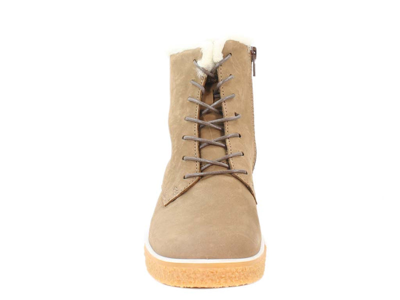 ECCO Boots Crepetray Camel front view