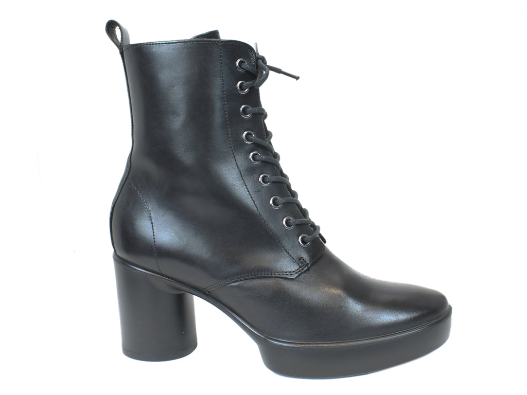 ECCO Boots Shape Sculpted Black  side view