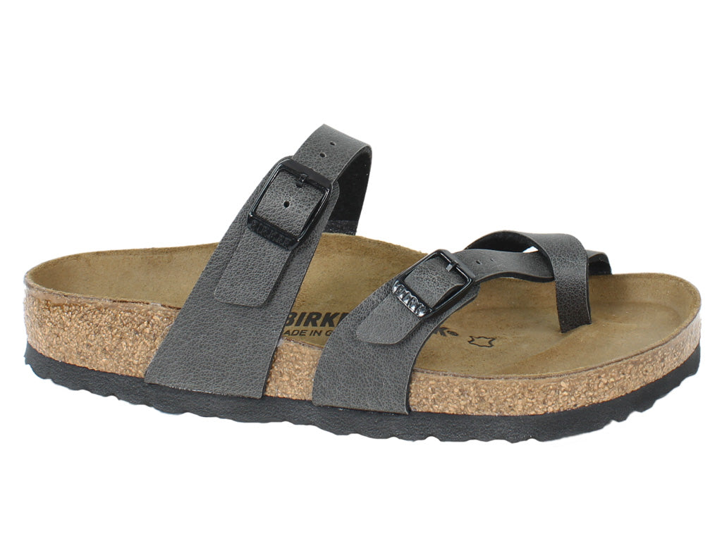Birkenstock Sandals Mayari Anthracite side view