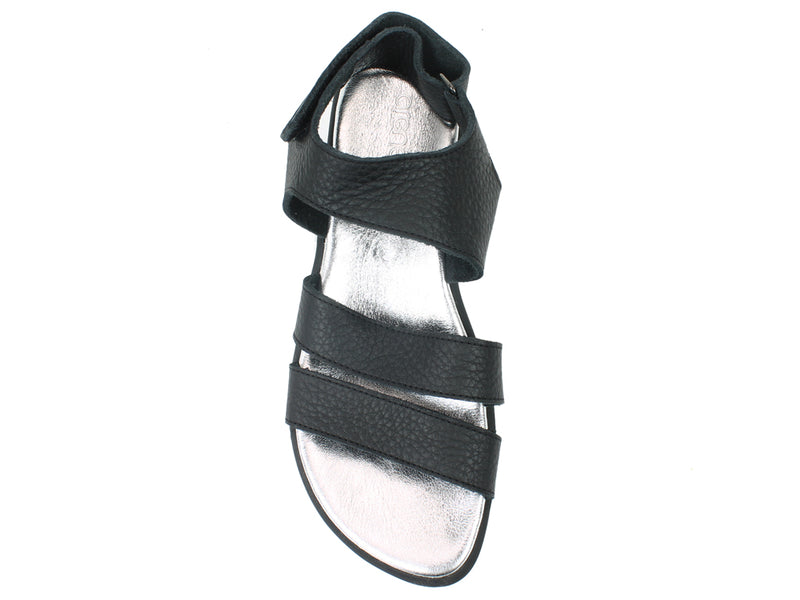Arche Sandals Satana Black top view