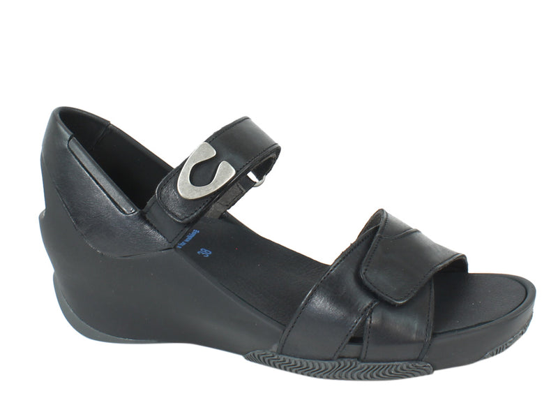 Wolky Women Sandals Epoch Black side view