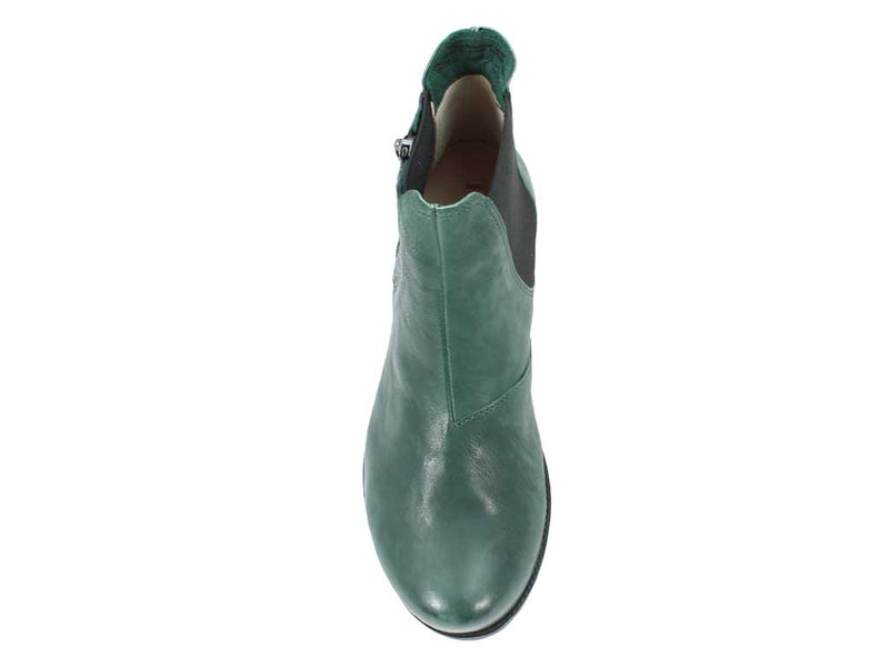 Think Boots Denk 85028-61 Bottle Green top view