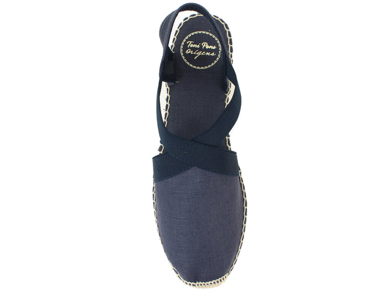 Toni Pons Sandals Verona Navy top view