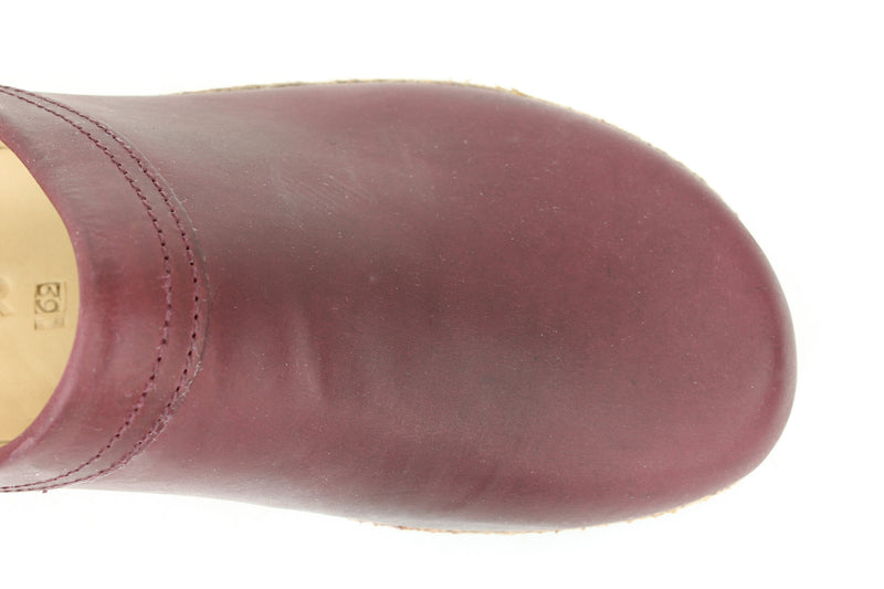 Haflinger Clogs Malmo Bordeaux (Second Quality)