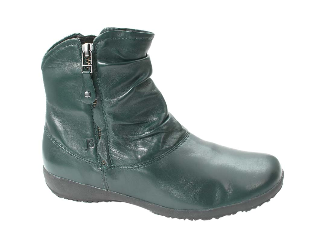 Josef Seibel Boots Naly 24 Petrol side view