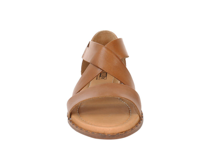 Pikolinos Women Sandals Algar W0X-0552 Brandy front view