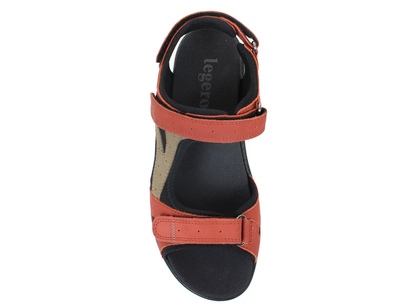 Legero Sandals Siris 732-541 Red top view
