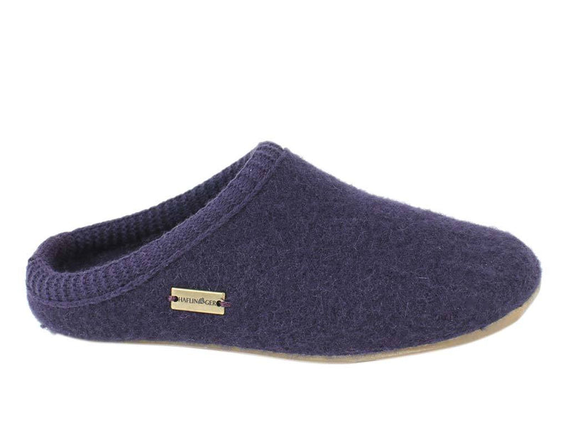 Haflinger Slippers Everest Classic Lavender side view