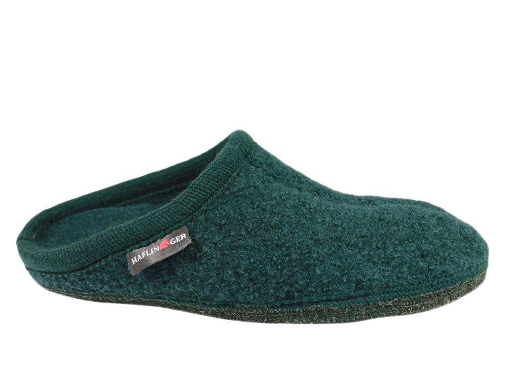 Haflinger Slippers Alaska Teal Green