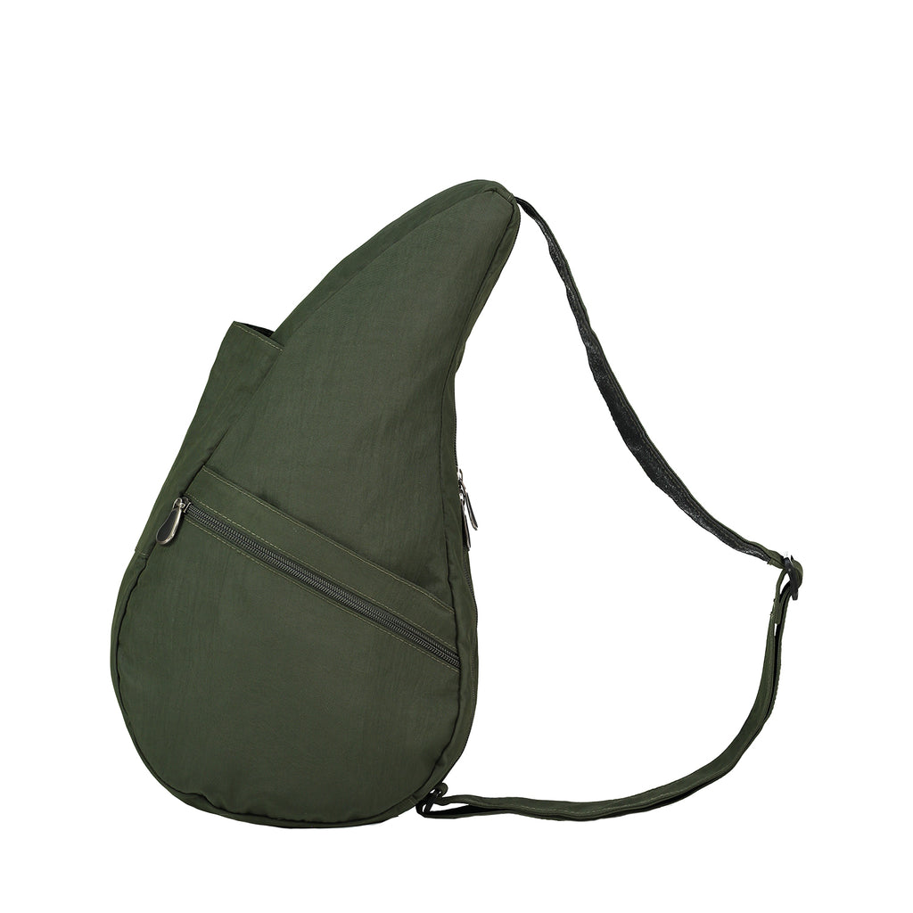 Healthy Back Bag Textured Nylon - Deep Forest Small left side