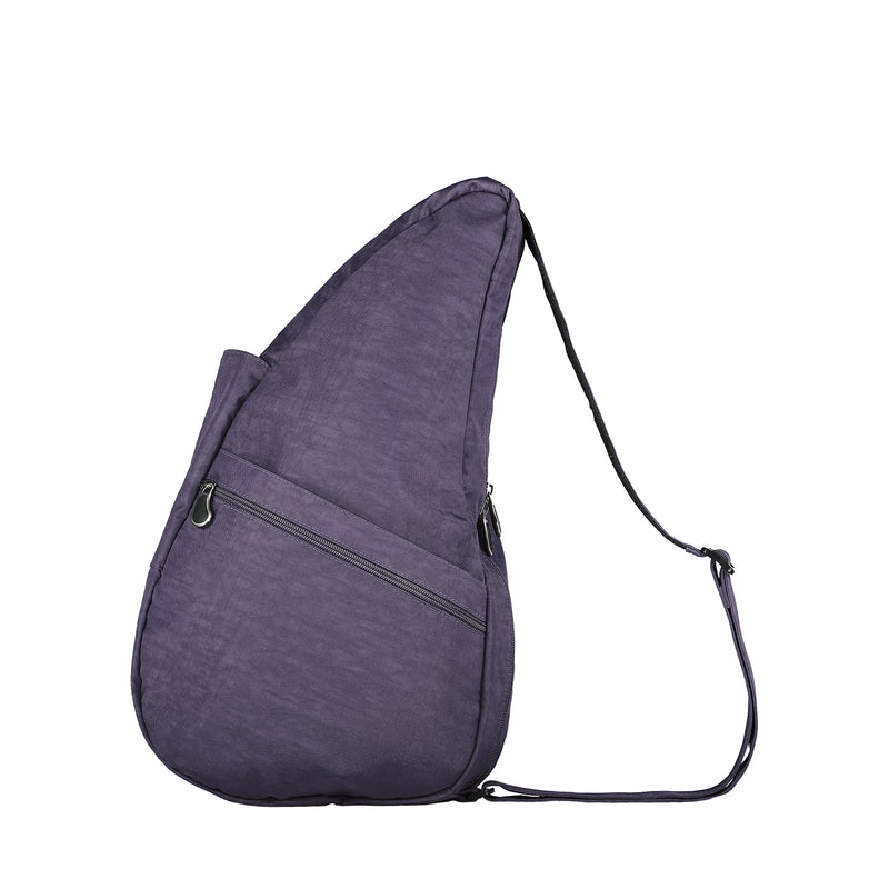 Healthy Back Bag Textured Nylon - Plum Small left side