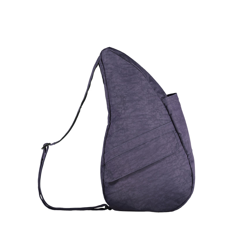 Healthy Back Bag Textured Nylon - Plum Small right side
