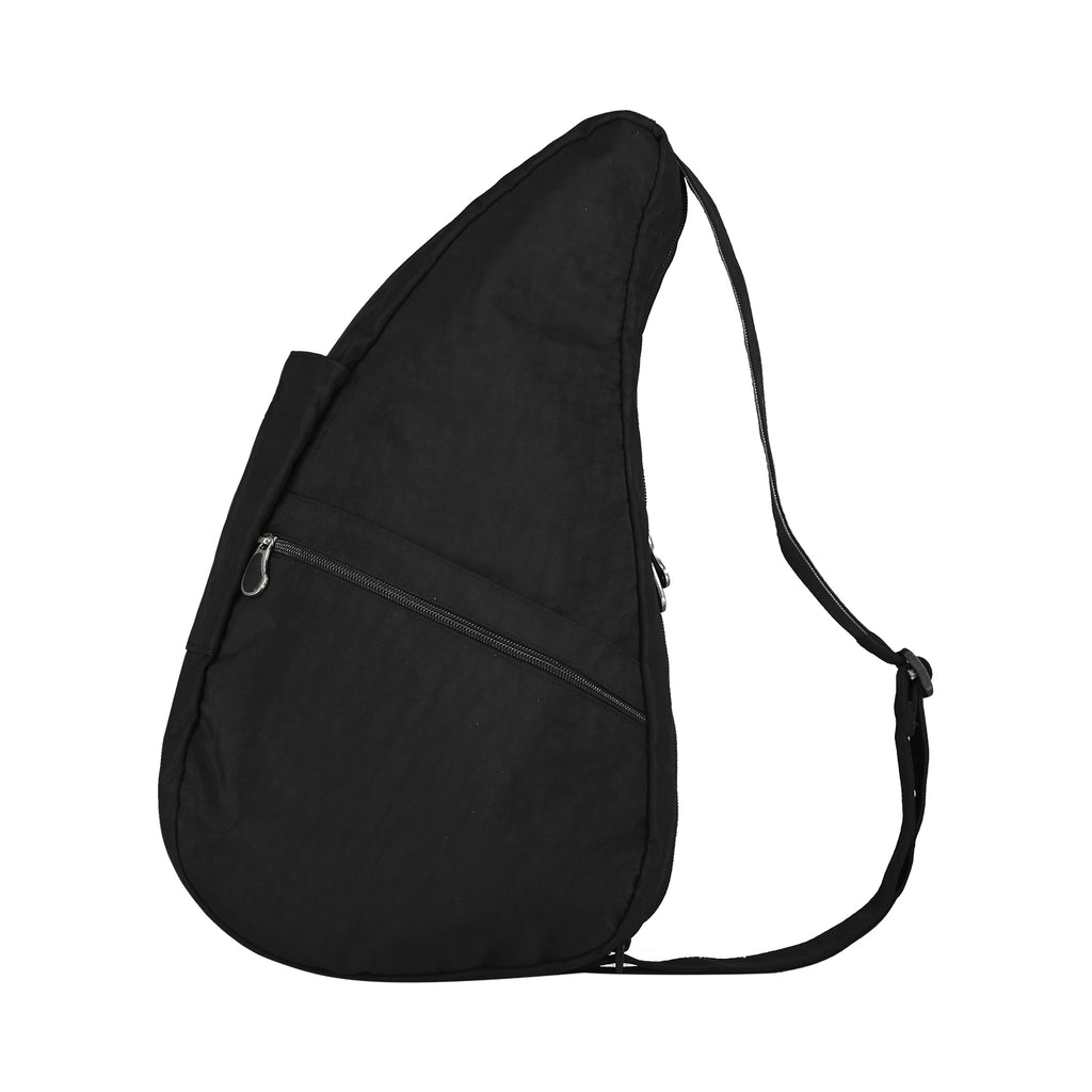 Healthy Back Bag Textured Nylon Black - Medium left side