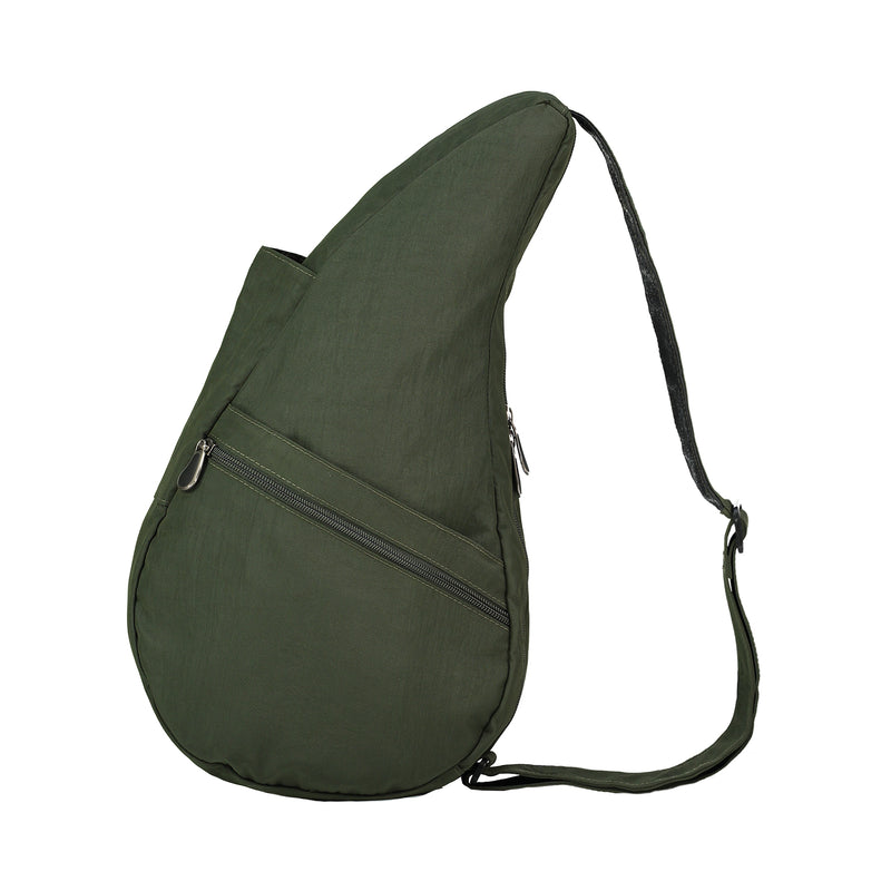 Healthy Back Bag Textured Nylon Forest - Medium left side