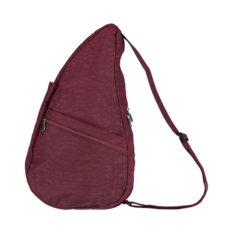 Healthy Back Bag Textured Nylon Fig - Medium left side