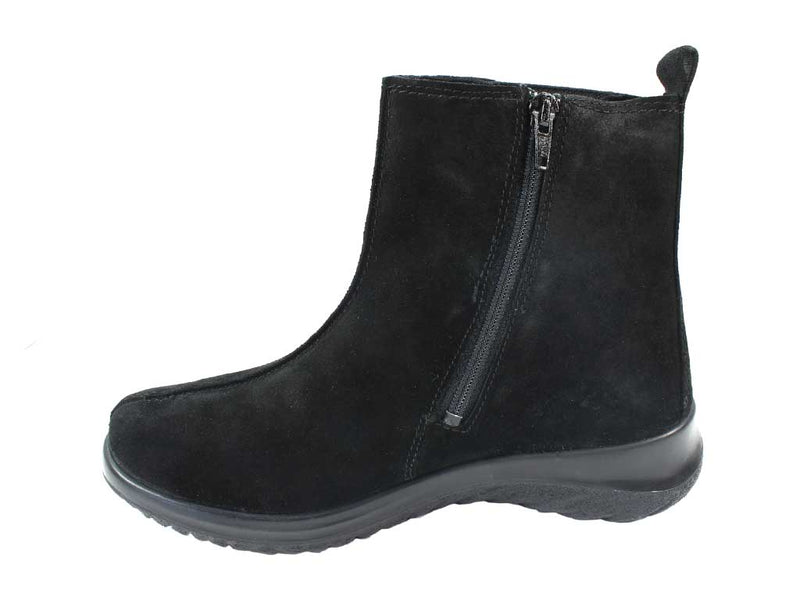 Legero Boots Soft 09571-00 Black in side view
