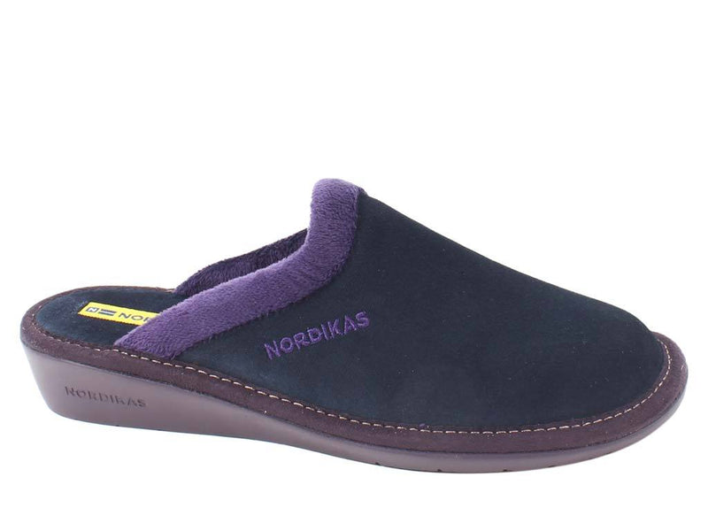 Nordikas Slippers Marino Blue side view