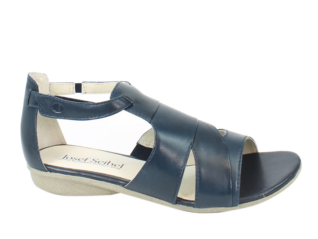 Josef Seibel Women Sandals Fabia 03 Ocean side view