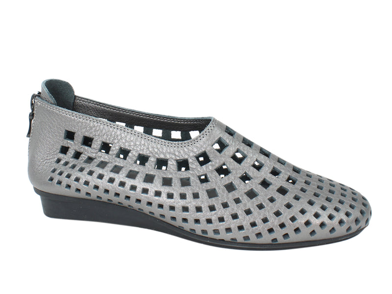 Arche Shoes Nirick Iron Grey side view