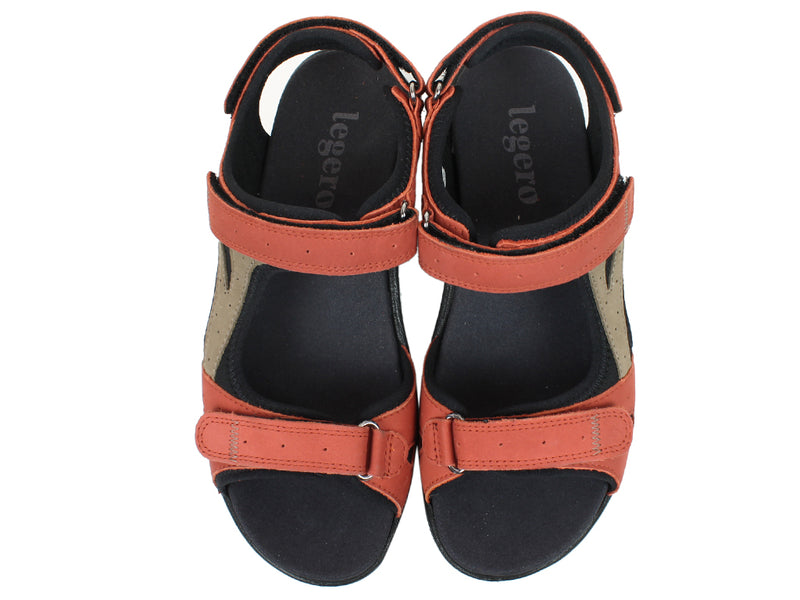 Legero Sandals Siris 732-541 Red upper view