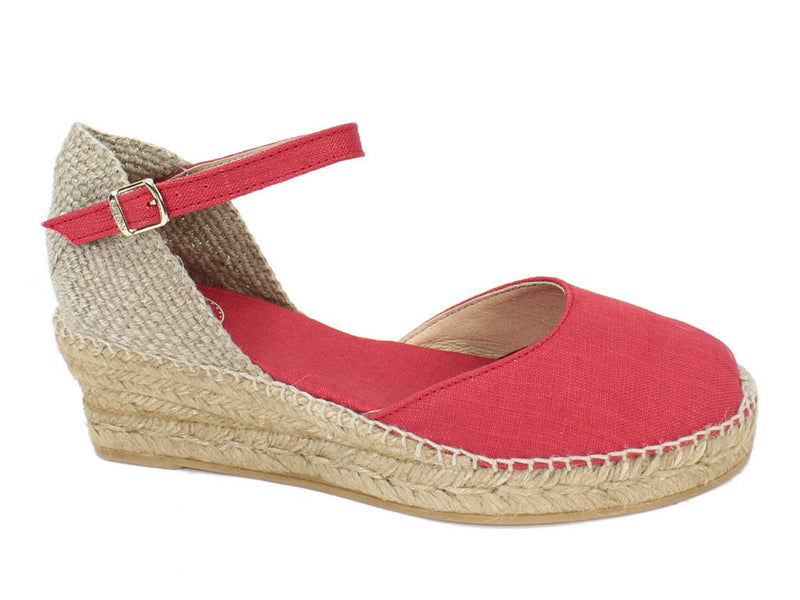 Toni Pons Sandals Romina Red side view