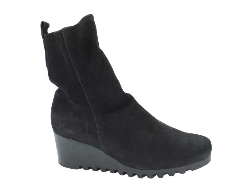 Arche Boots Larazo Noir Black side view