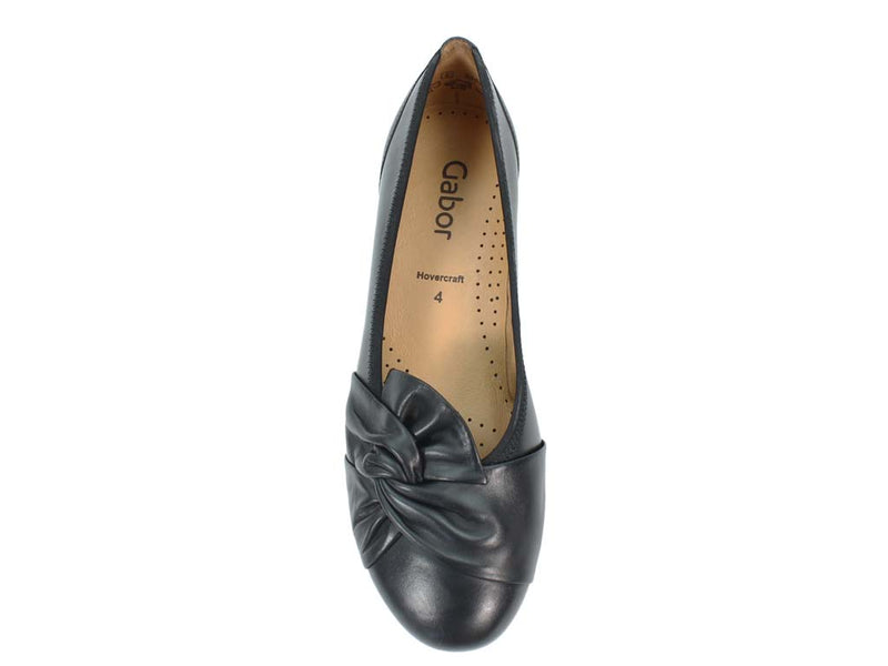 Gabor Ballerinas Claredon 34.167 Black top view