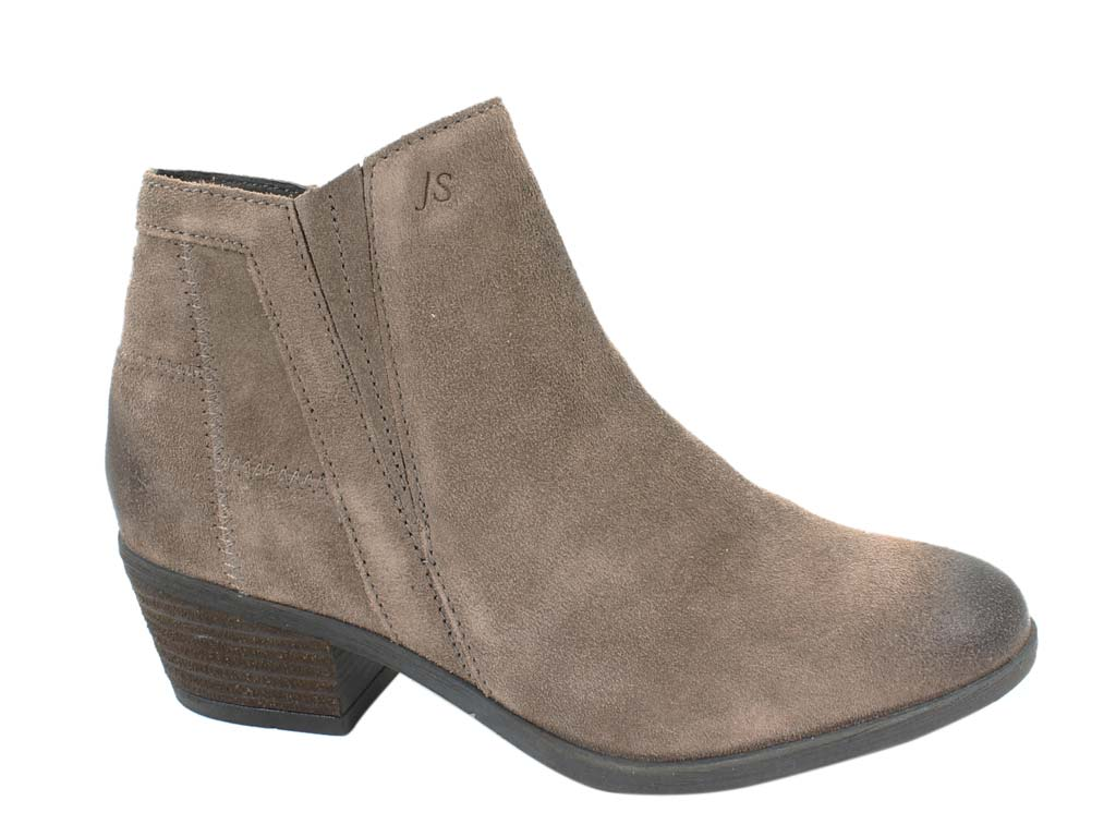 Josef Seibel Boots Daphne 09 Taupe side view