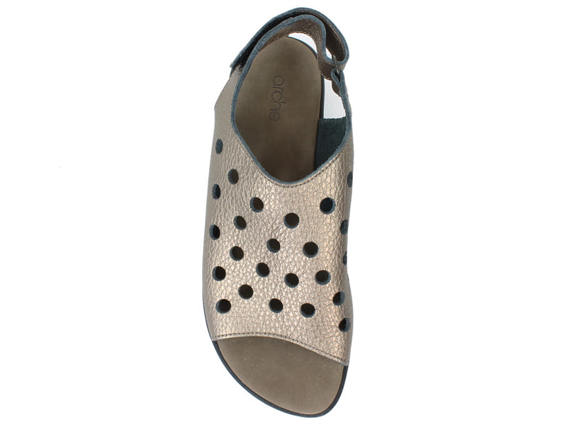 Arche Women Sandals Saotto Moon top view