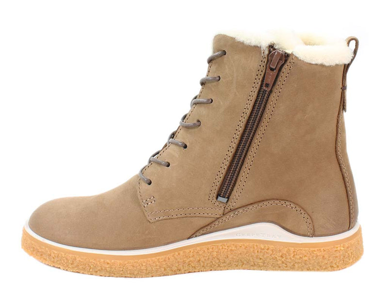 ECCO Boots Crepetray Camel side view
