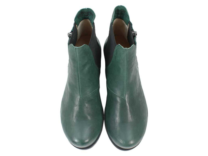 Think Boots Denk 85028-61 Bottle Green upper view