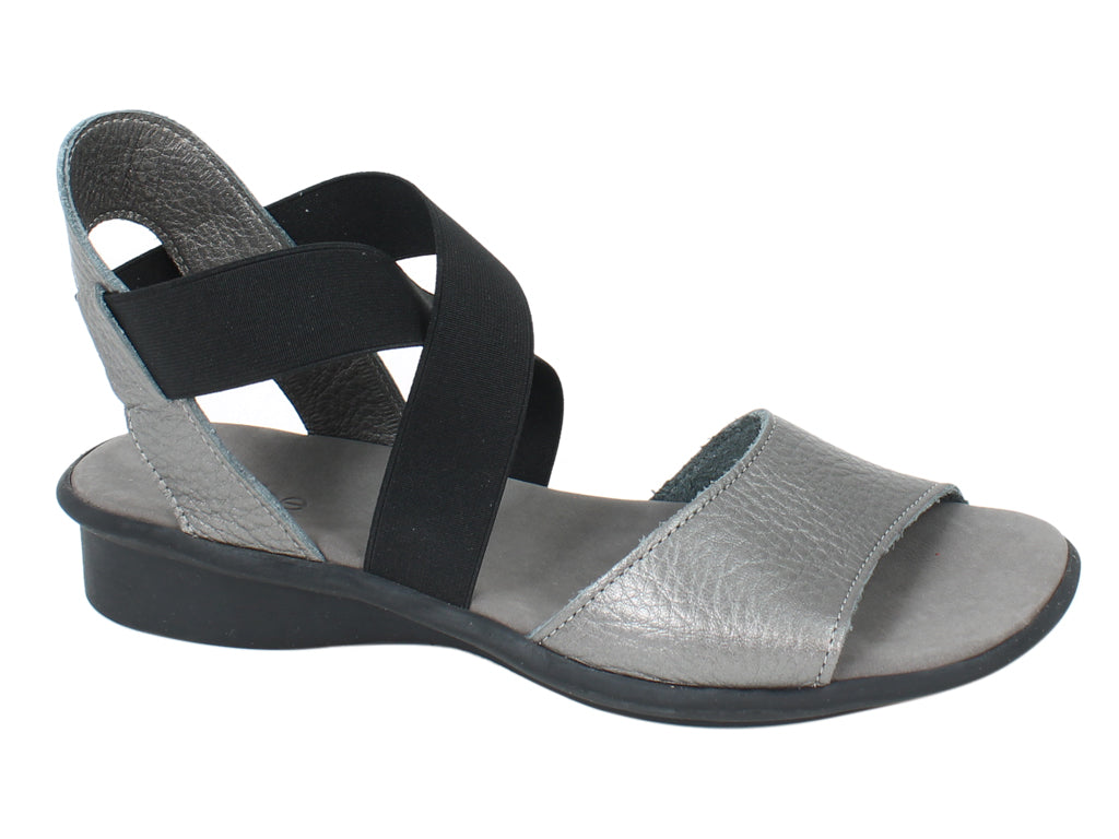 Arche Sandals Satia Iron Grey side view
