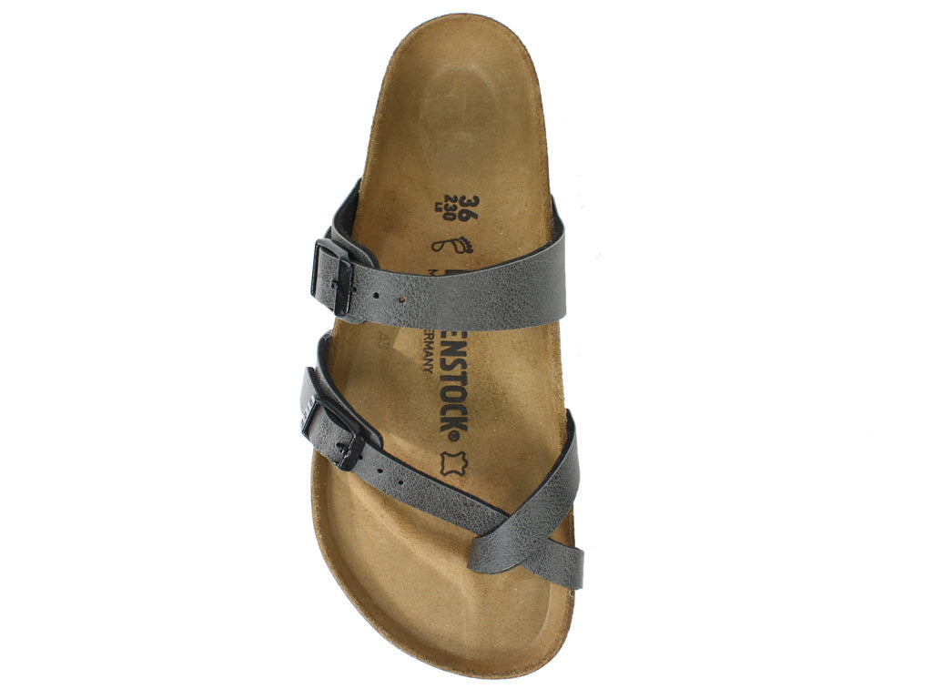 Birkenstock Sandals Mayari Anthracite top view